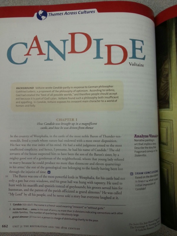 essay candide Free college essay candide francois marie arouet de voltaire was the french author of the novella candide, also known as optimism(durant and durant 724.